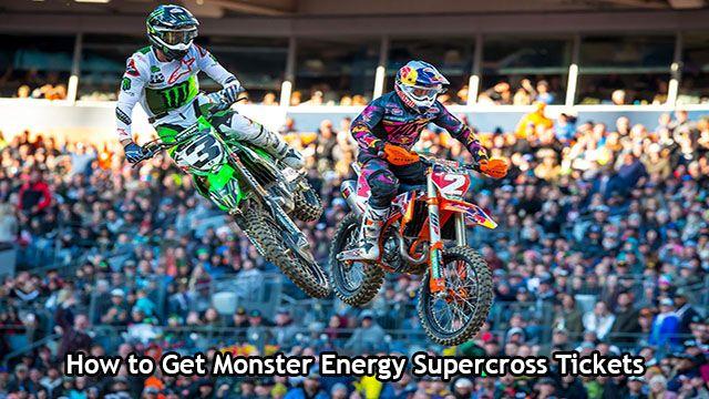 Monster Energy Supercross 2020 Tickets