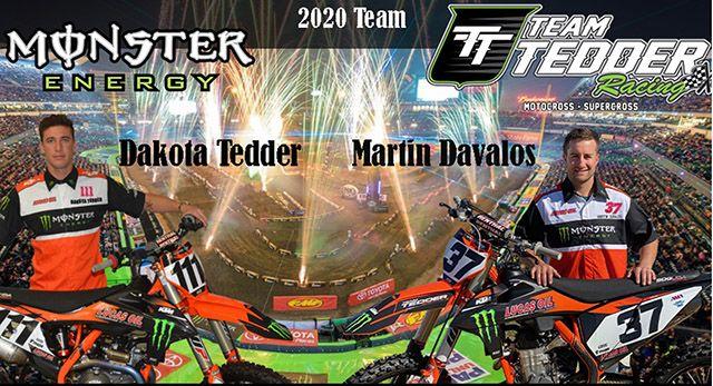 Team TEDDER 2020 Supercross Team