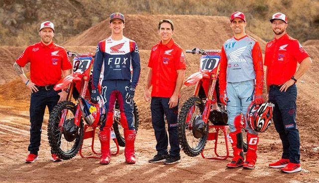 The Next Year Honda AMA Supercross and Arenacross Teams